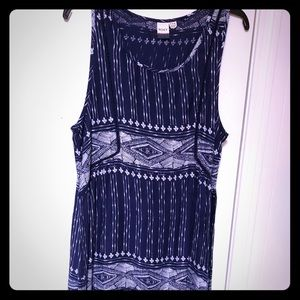 Short summer dress size xl